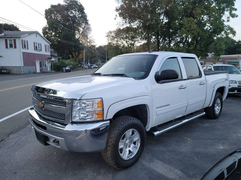 2012 Chevrolet Silverado 1500 for sale at Trade Automotive, Inc in New Windsor NY