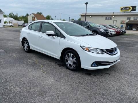 2015 Honda Civic for sale at Riverside Auto Sales & Service in Portland ME