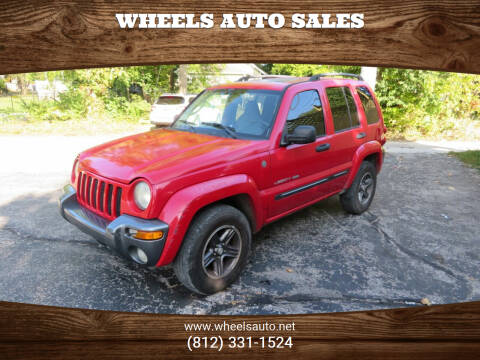 2004 Jeep Liberty for sale at Wheels Auto Sales in Bloomington IN