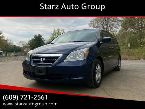 2007 Honda Odyssey for sale at Starz Auto Group in Delran NJ