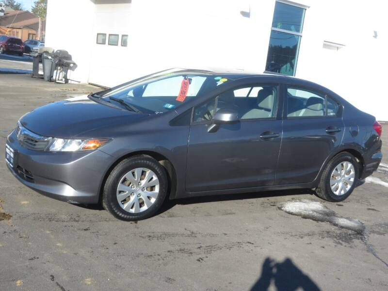 2012 Honda Civic for sale at Price Auto Sales 2 in Concord NH