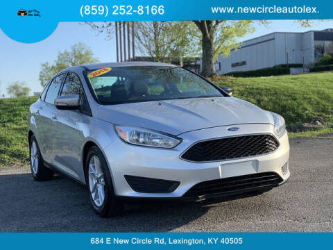 2016 Ford Focus for sale at New Circle Auto Sales LLC in Lexington KY