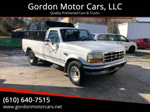 1995 Ford F-250 for sale at Gordon Motor Cars, LLC in Frazer PA