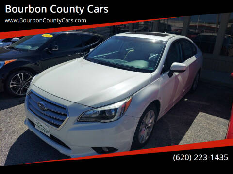2016 Subaru Legacy for sale at Bourbon County Cars in Fort Scott KS
