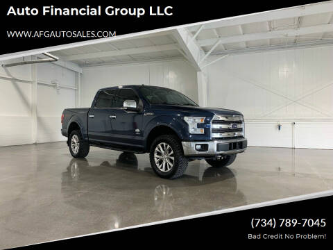 2015 Ford F-150 for sale at Auto Financial Group LLC in Flat Rock MI