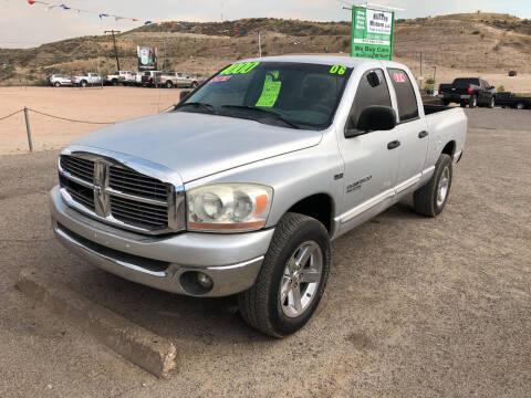 2006 Dodge Ram Pickup 1500 for sale at Hilltop Motors in Globe AZ
