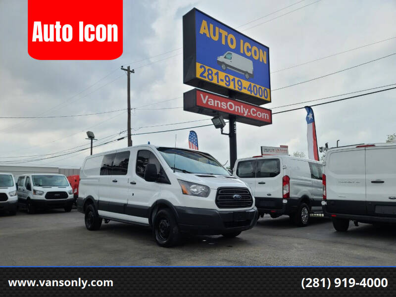 2018 Ford Transit Cargo for sale at Auto Icon in Houston TX