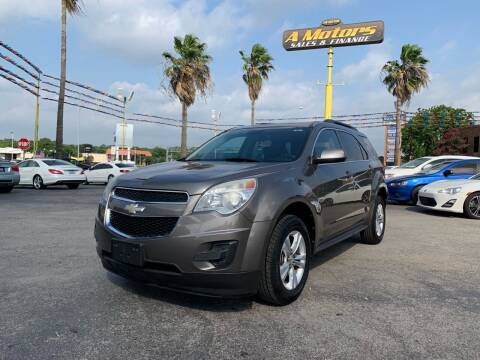 2012 Chevrolet Equinox for sale at A MOTORS SALES AND FINANCE in San Antonio TX