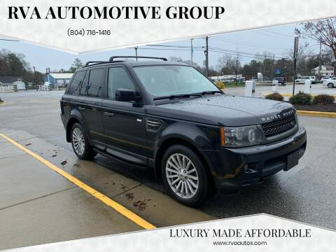 2011 Land Rover Range Rover Sport for sale at RVA Automotive Group in Richmond VA