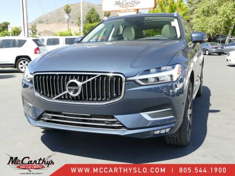 2018 Volvo XC60 for sale at McCarthy Wholesale in San Luis Obispo CA