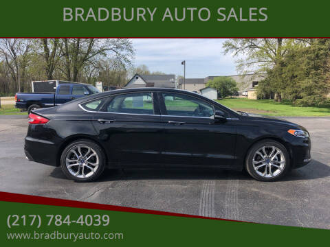 2020 Ford Fusion for sale at BRADBURY AUTO SALES in Gibson City IL