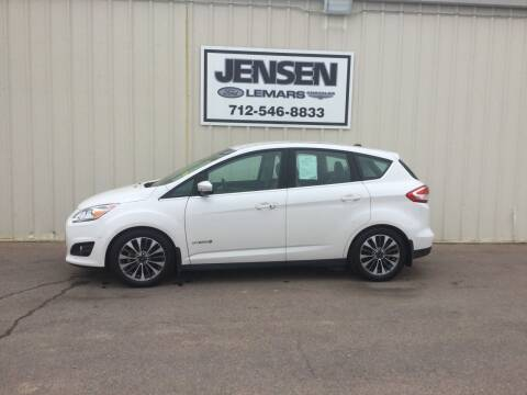 2018 Ford C-MAX Hybrid for sale at Jensen's Dealerships in Sioux City IA