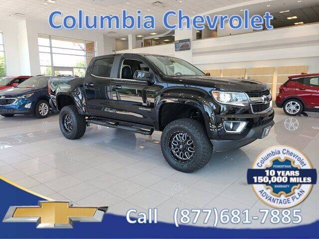 2020 Chevrolet Colorado for sale at COLUMBIA CHEVROLET in Cincinnati OH
