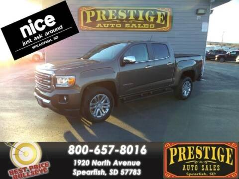 2015 GMC Canyon for sale at PRESTIGE AUTO SALES in Spearfish SD