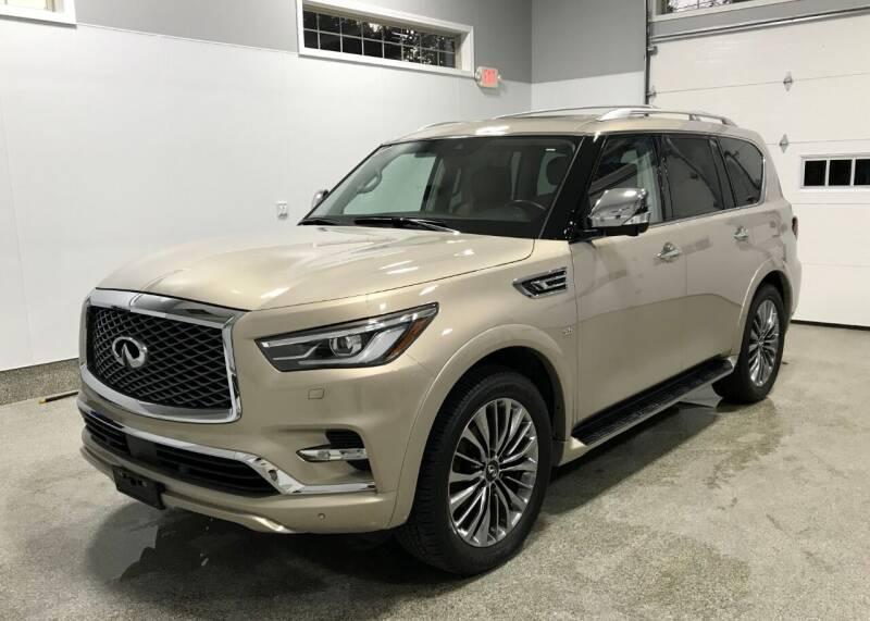 2018 Infiniti QX80 for sale at B Town Motors in Belchertown MA