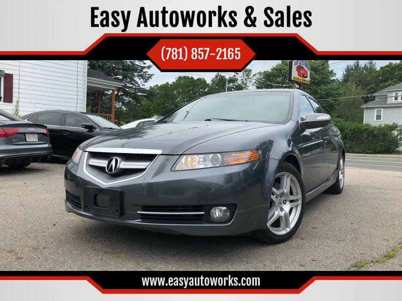 2008 Acura TL for sale at Easy Autoworks & Sales in Whitman MA