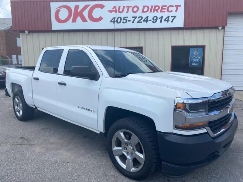2016 Chevrolet Silverado 1500 for sale at OKC Auto Direct in Oklahoma City OK