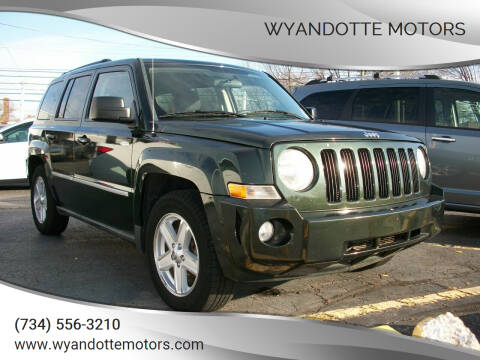 2010 Jeep Patriot for sale at Wyandotte Motors in Wyandotte MI