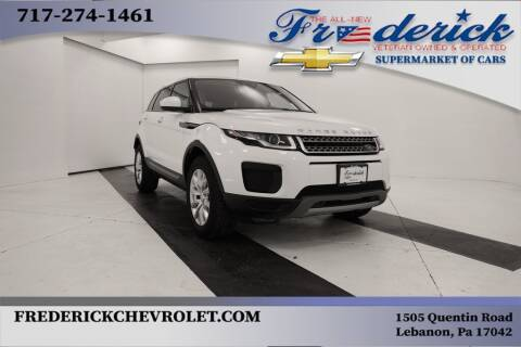2018 Land Rover Range Rover Evoque for sale at Lancaster Pre-Owned in Lancaster PA