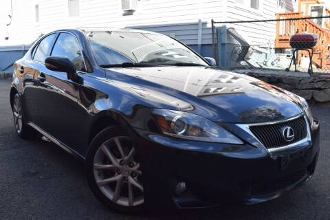 2012 Lexus IS 250 for sale at VNC Inc in Paterson NJ
