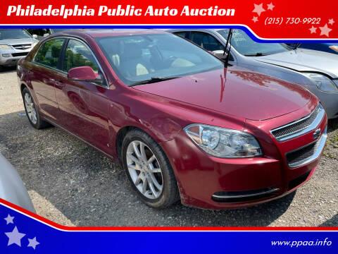 2010 Chevrolet Malibu for sale at Philadelphia Public Auto Auction in Philadelphia PA