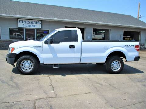 2012 Ford F-150 for sale at Steffes Motors in Council Bluffs IA