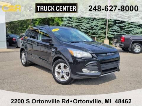 2014 Ford Escape for sale at Carite Truck Center in Ortonville MI