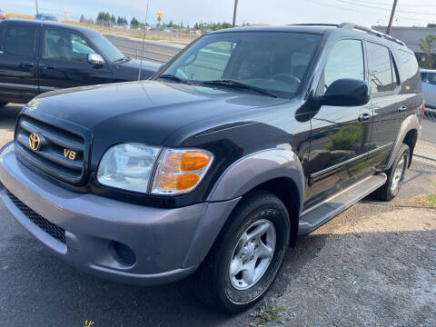 2001 Toyota Sequoia for sale at Cliff's Qualty Auto Sales in Spokane WA