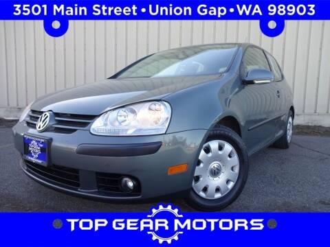 2008 Volkswagen Rabbit for sale at Top Gear Motors in Union Gap WA