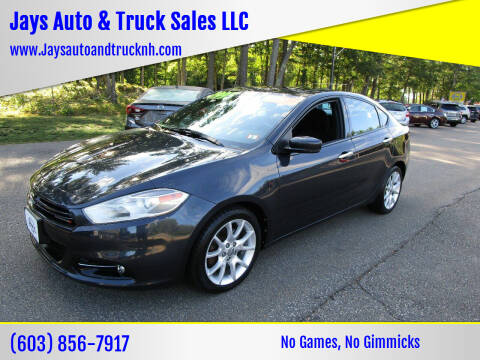 2013 Dodge Dart for sale at Jays Auto & Truck Sales LLC in Loudon NH