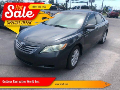 2008 Toyota Camry Hybrid for sale at Outdoor Recreation World Inc. in Panama City FL