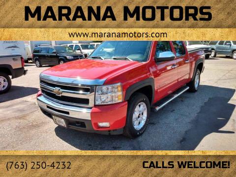 2010 Chevrolet Silverado 1500 for sale at Marana Motors in Princeton MN