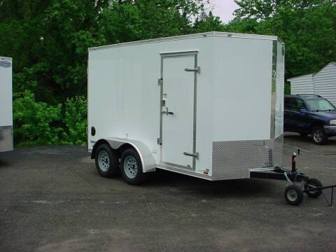 2022 Forest River 6.5x12 V-Nose tandem Axle for sale at S. A. Y. Trailers in Loyalhanna PA
