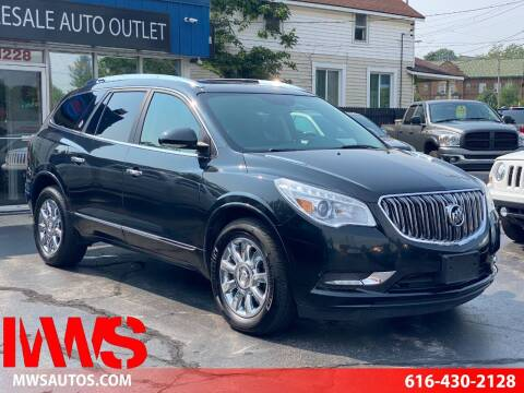 2015 Buick Enclave for sale at MWS Wholesale  Auto Outlet in Grand Rapids MI