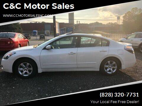 2009 Nissan Altima for sale at C&C Motor Sales LLC in Hudson NC