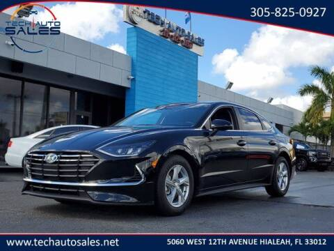 2020 Hyundai Sonata for sale at Tech Auto Sales in Hialeah FL