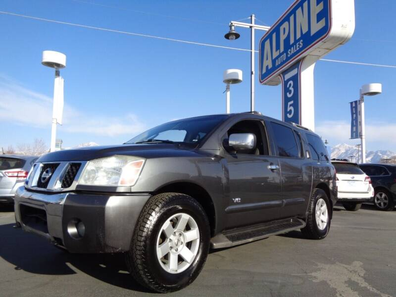 2006 Nissan Armada for sale at Alpine Auto Sales in Salt Lake City UT