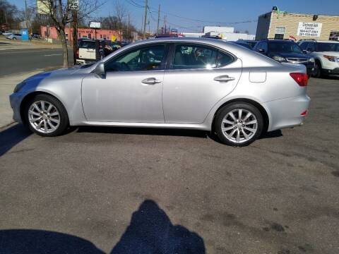 2007 Lexus IS 250 for sale at Crestwood Auto Center in Richmond VA
