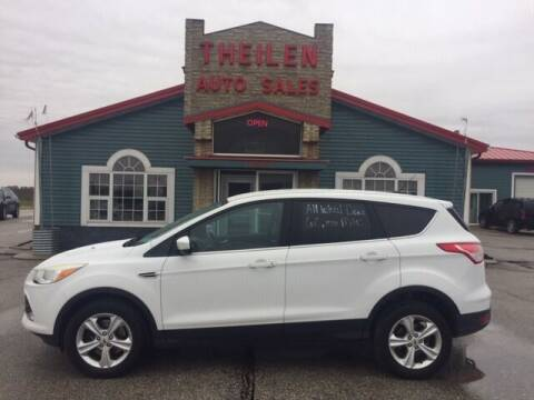 2013 Ford Escape for sale at THEILEN AUTO SALES in Clear Lake IA