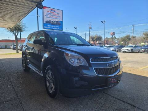 2015 Chevrolet Equinox for sale at Magic Auto Sales in Dallas TX