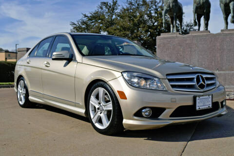2010 Mercedes-Benz C-Class for sale at European Motor Cars LTD in Fort Worth TX