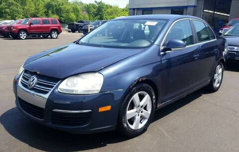 2008 Volkswagen Jetta for sale at Angelo's Auto Sales in Lowellville OH