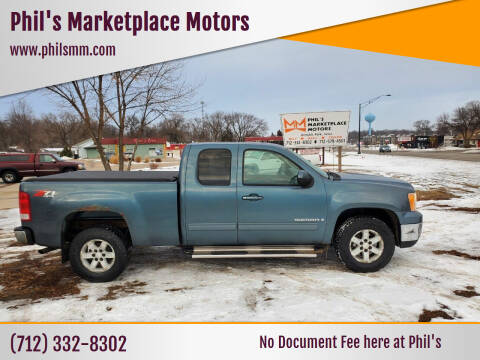 2007 GMC Sierra 1500 for sale at Phil's Marketplace Motors in Arnolds Park IA