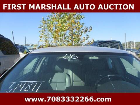 2006 Chrysler 300 for sale at First Marshall Auto Auction in Harvey IL