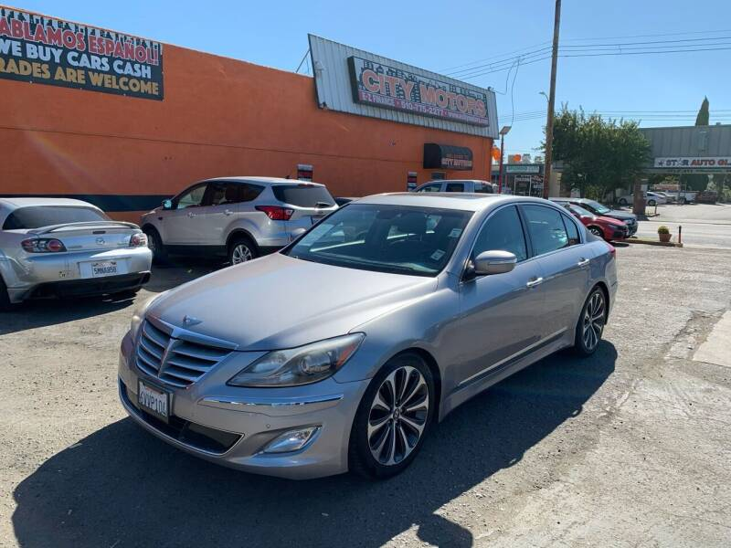 2012 Hyundai Genesis for sale at City Motors in Hayward CA