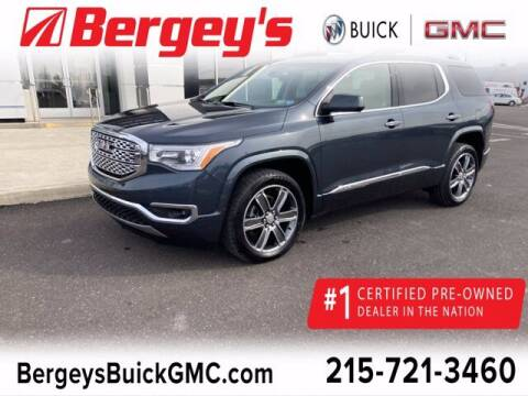 2019 GMC Acadia for sale at Bergey's Buick GMC in Souderton PA