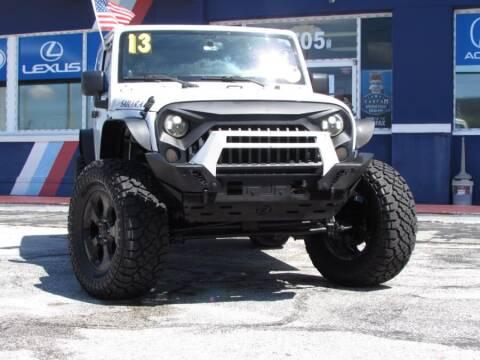 2013 Jeep Wrangler for sale at VIP AUTO ENTERPRISE INC. in Orlando FL