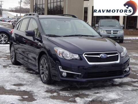2015 Subaru Impreza for sale at RAVMOTORS 2 in Crystal MN