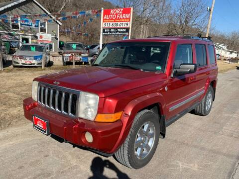 2006 Jeep Commander for sale at Korz Auto Farm in Kansas City KS