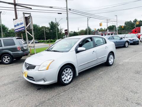 2010 Nissan Sentra for sale at New Wave Auto of Vineland in Vineland NJ